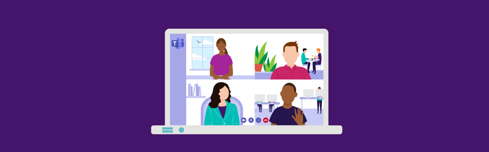 decorative Microsoft Teams banner image